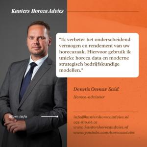 Kanters Horeca Advies verbetert onderscheidend vermogen en rendement van horeca gerelateerde bedrijven.